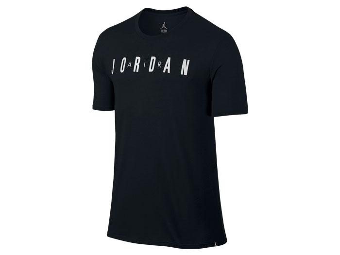JORDAN ジョーダン ICONIC AIR JORDAN S/S Tシャツ (バスケットボール プラクティスウェアー 半袖Tシャツ)ブラック/ホワイト(010)【スポーツ用品 > チーム スポーツ > バスケットボール】【JORDAN/ジョーダン】/834478