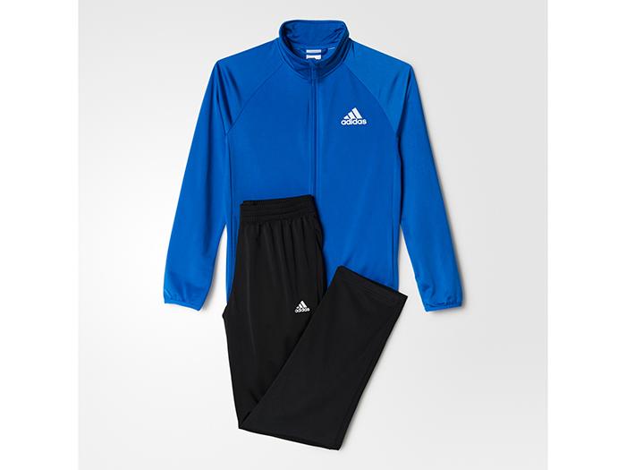 adidas Boys ジャージ上下セット (ストレートパンツ) (フットサル&サッカー トレーニングウェアー トレーニングジャージ)【スポーツ用品 > チーム スポーツ > サッカー】【adidas/アディダス】/BP8815