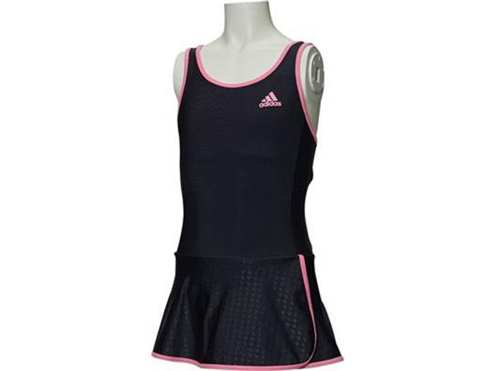 adidas GIRLS スカート付きワンピース (その他スポーツ スイミング スイムウェアー)【スポーツ用品 > チーム スポーツ > ハンドボール】【adidas/アディダス】/BS4815