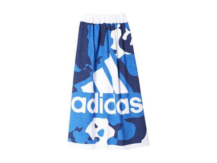adidas KIDS ラップタオル Lサイズ (その他スポーツ スイミング タオル)ブルー【スポーツ用品 > チーム スポーツ > ハンドボール】【adidas/アディダス】/BS4830