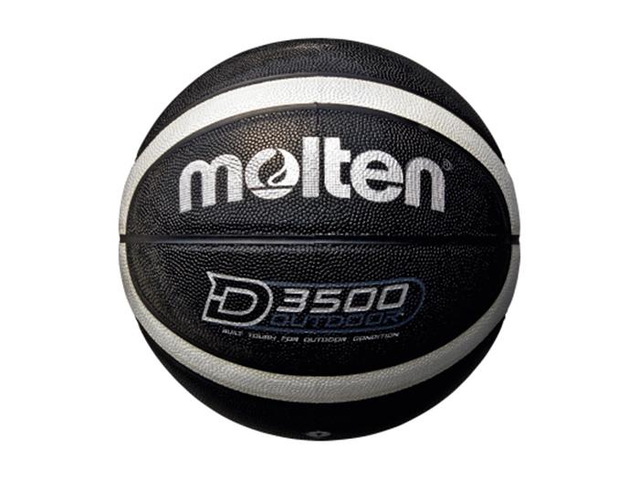 molten アウトドアバスケットボール(7号球) (バスケットボール ボール 7号球)ブラック×シルバー(7号球)【スポーツ用品 > チーム スポーツ > バスケットボール】【molten/モルテン】/B7D3500-KS