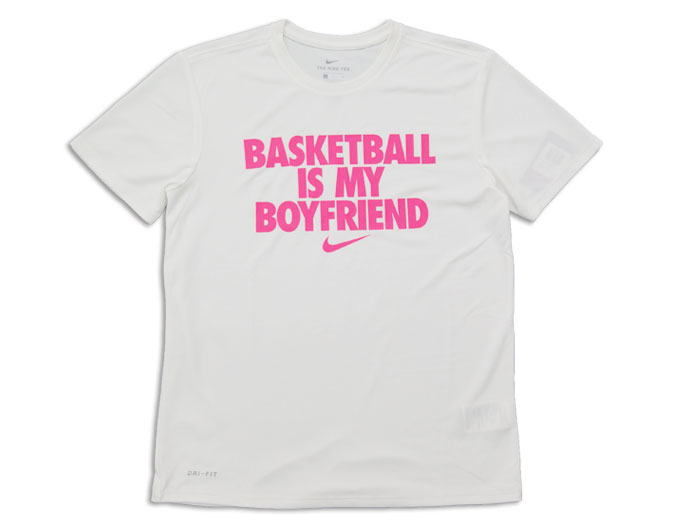 NIKE BASKETBALL IS MY BF S/S Tシャツ (バスケットボール Tシャツ 半袖Tシャツ)【スポーツ用品 > チーム スポーツ > バスケットボール】【NIKE/ナイキ】/AA1722