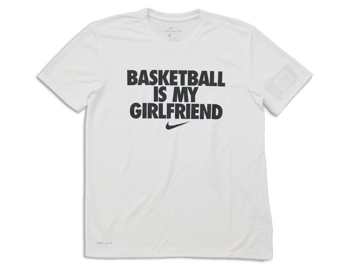 NIKE BASKETBALL IS MY GF S/S Tシャツ (バスケットボール Tシャツ 半袖Tシャツ)【スポーツ用品 > チーム スポーツ > バスケットボール】【NIKE/ナイキ】/AA1723