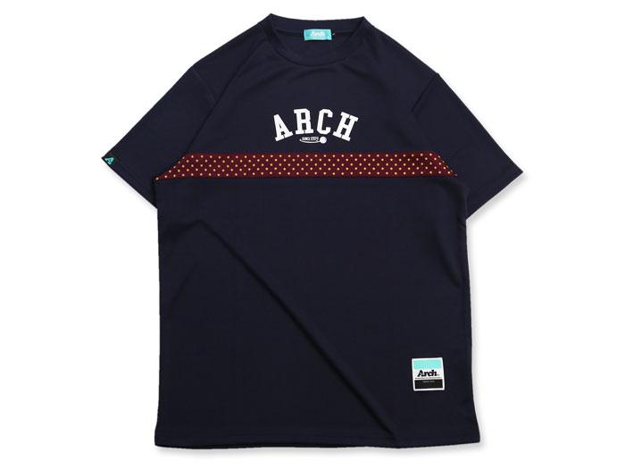 Arch Arch paneled star dot tee[DRY] (バスケットボール プラクティスウェアー 半袖Tシャツ)【スポーツ用品 > チーム スポーツ > バスケットボール】【Arch/アーチ】/T17-013