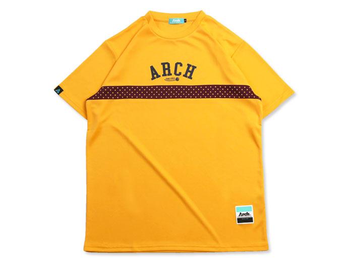 Arch Arch paneled star dot tee[DRY] (バスケットボール プラクティスウェアー 半袖Tシャツ)【スポーツ用品 > チーム スポーツ > バスケットボール】【Arch/アーチ】/T17-014