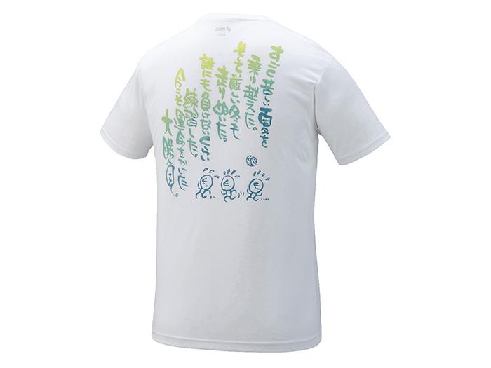 ASICS プリントTシャツHS (バレーボール プラクティスウェアー メンズ半袖Tシャツ)【スポーツ用品 > チーム スポーツ > バレーボール】【ASICS/アシックス】/XW6727