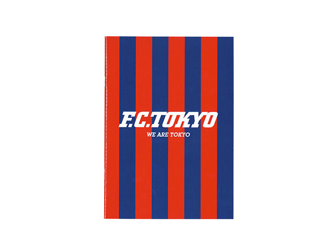 B5ノート(ロゴ) (フットサル&サッカー FC東京関連ウェアー・グッズ)【スポーツ用品 > チーム スポーツ > サッカー】【GALLERY・2】/C16316
