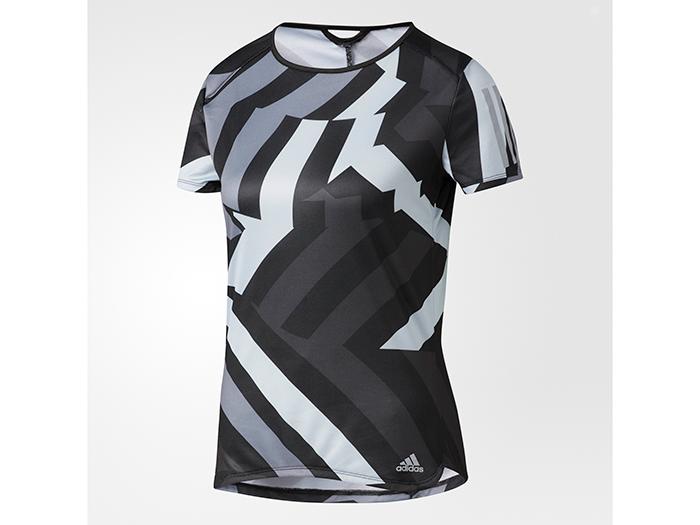 adidas RESPONSE グラフィック半袖Tシャツ (その他スポーツ ランニング レディスウェアー)【スポーツ用品 > チーム スポーツ > ハンドボール】【adidas/アディダス】/AZ2856