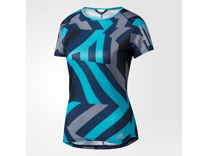 adidas RESPONSE グラフィック半袖Tシャツ (その他スポーツ ランニング レディスウェアー)【スポーツ用品 > チーム スポーツ > ハンドボール】【adidas/アディダス】/AZ2857