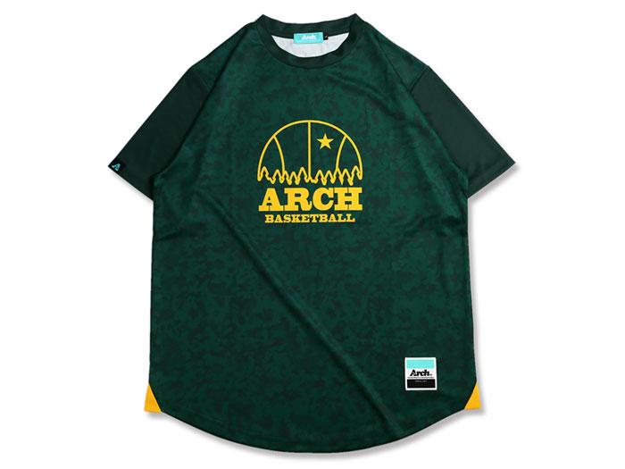 Arch Arch ballin tour tee[DRY] (バスケットボール プラクティスウェアー 半袖Tシャツ)【スポーツ用品 > チーム スポーツ > バスケットボール】【Arch/アーチ】/T17-021
