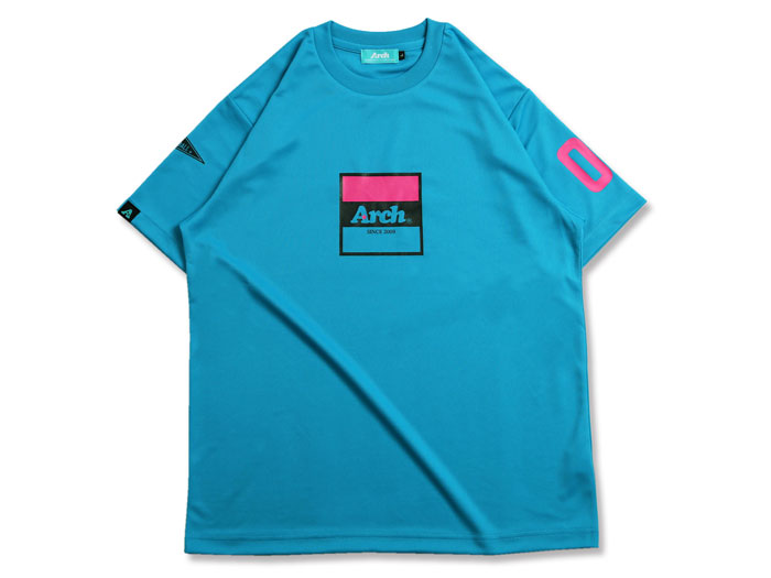 Arch Arch trico logo tee[DRY] (バスケットボール プラクティスウェアー 半袖Tシャツ)【スポーツ用品 > チーム スポーツ > バスケットボール】【Arch/アーチ】/T17-029