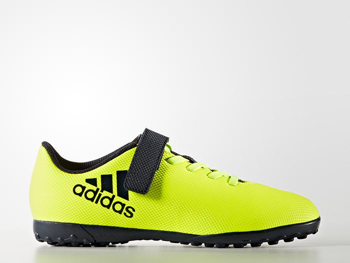 adidas エックス 17.4 TF J ベルクロ (フットサル&サッカー シューズ トレーニングシューズ)【スポーツ用品 > チーム スポーツ > サッカー】【adidas/アディダス】/BB6102
