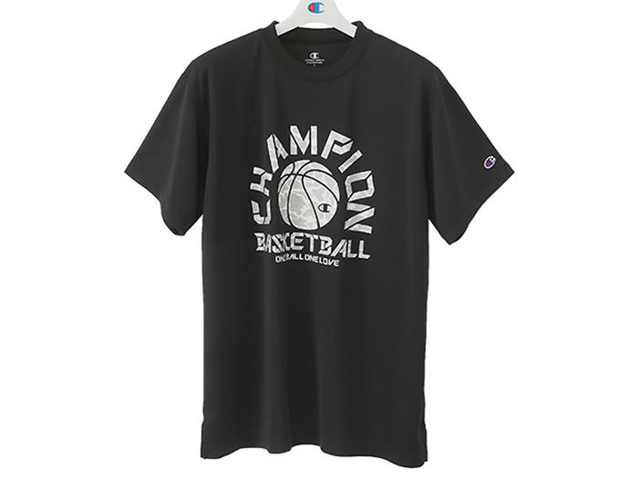 Champion プラクティスTシャツ E-MOTION (バスケットボール プラクティスウェアー 半袖Tシャツ)【スポーツ用品 > チーム スポーツ > バスケットボール】【Champion/チャンピオン】/C3-LB331