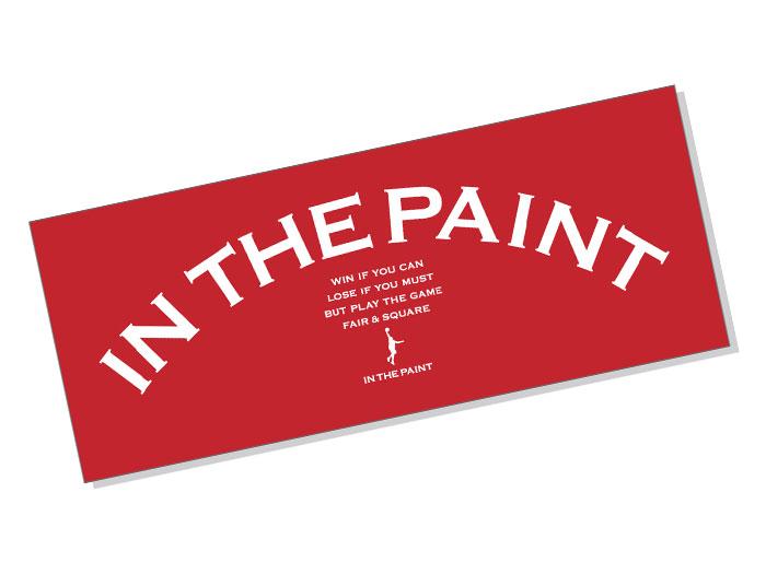 In The Paint SPORTS TOWEL (バスケットボール アクセサリー・グッズ タオル)【スポーツ用品 > チーム スポーツ > バスケットボール】【In The Paint/インザペイント】/ITP17130