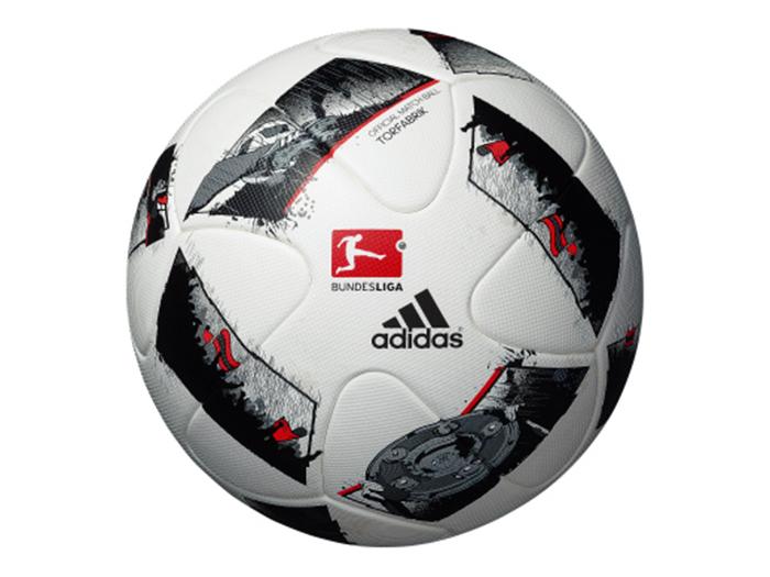 adidas ブンデスリーガ 16-17年 試合球 (フットサル&サッカー ボール サッカーボール5号球)ホワイト×ブラック【スポーツ用品 > チーム スポーツ > サッカー】【adidas/アディダス】/AF5510DFL