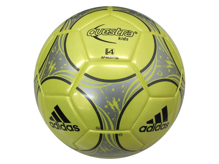 adidas クエストラキッズ 4号球 (フットサル&サッカー ボール サッカーボール4号球)【スポーツ用品 > チーム スポーツ > サッカー】【adidas/アディダス】/AF4635YSL