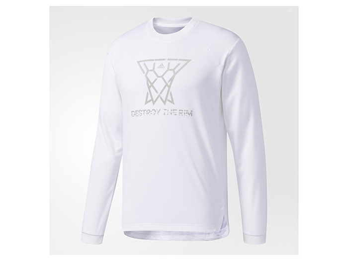 adidas PG BUKATSU ロングスリーブTシャツ (バスケットボール Tシャツ 長袖Tシャツ)【スポーツ用品 > チーム スポーツ > バスケットボール】【adidas/アディダス】/CD2826