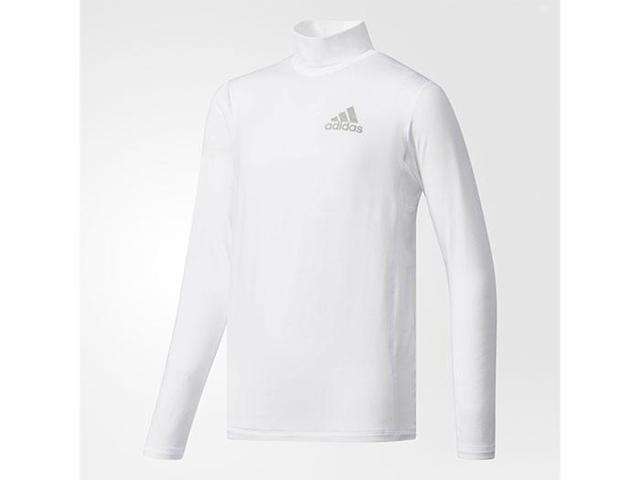 adidas Boys TRN CLIMAWARM ハイネック長袖Tシャツ (フットサル&サッカー レディス&ジュニア プラクティスウェア)【スポーツ用品 > チーム スポーツ > サッカー】【adidas/アディダス】/CE0274