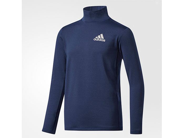 adidas Boys TRN CLIMAWARM ハイネック長袖Tシャツ (フットサル&サッカー レディス&ジュニア プラクティスウェア)【スポーツ用品 > チーム スポーツ > サッカー】【adidas/アディダス】/CD2810