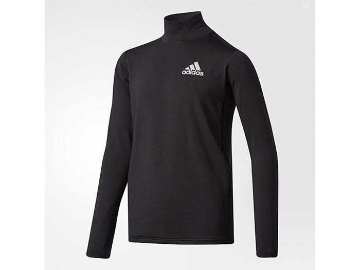 adidas Boys TRN CLIMAWARM ハイネック長袖Tシャツ (フットサル&サッカー レディス&ジュニア プラクティスウェア)【スポーツ用品 > チーム スポーツ > サッカー】【adidas/アディダス】/CD2811