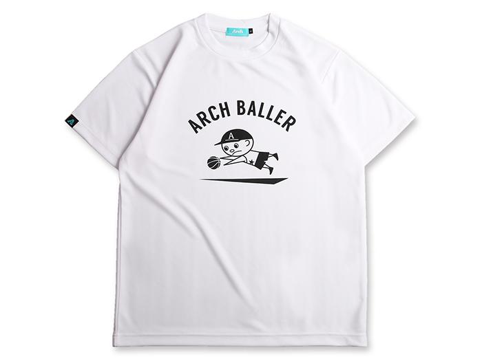 Arch dive tee[DRY] (バスケットボール プラクティスウェアー 半袖Tシャツ)【スポーツ用品 > チーム スポーツ > バスケットボール】【Arch/アーチ】/T17-041