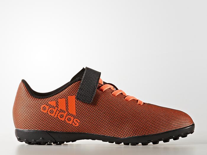 adidas エックス 17.4 TF J ベルクロ (フットサル&サッカー シューズ トレーニングシューズ)【スポーツ用品 > チーム スポーツ > サッカー】【adidas/アディダス】/BB6103