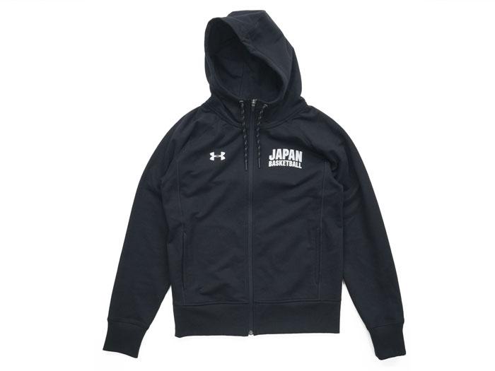 UNDER ARMOUR UA JAPAN FZ HOODY (バスケットボール トレーニングウェアー スウェット)【スポーツ用品 > チーム スポーツ > バスケットボール】【UNDER ARMOUR/アンダーアーマー】/1319793