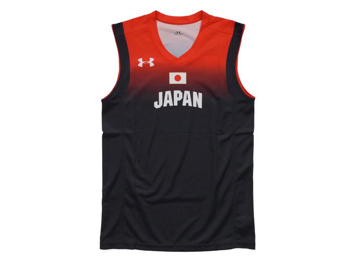 UNDER ARMOUR UA JAPAN REPLICA UNIFORM (バスケットボール プラクティスウェアー カットオフ)【スポーツ用品 > チーム スポーツ > バスケットボール】【UNDER ARMOUR/アンダーアーマー】/1321782