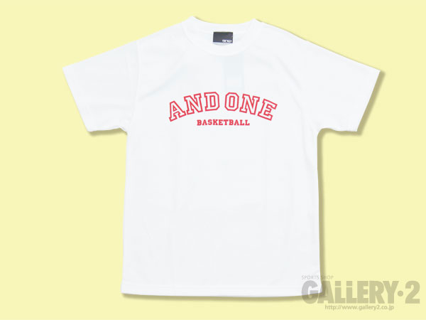 AND1 AND1 STYLE LOGO TEE