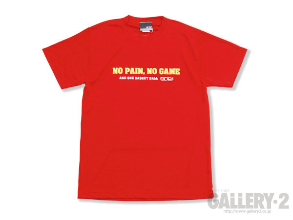 AND1 NO PAIN、NOGAME2 TEE