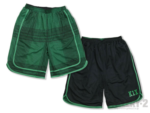 K1X Fade check reversible shorts