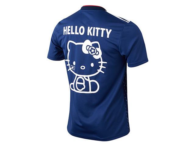 Hello Kittyマーキング付き サッカー日本代表 ホーム レプリカユニフォーム半袖