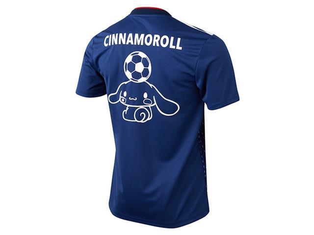 シナモロールマーキング付き サッカー日本代表 ホーム レプリカユニフォーム半袖