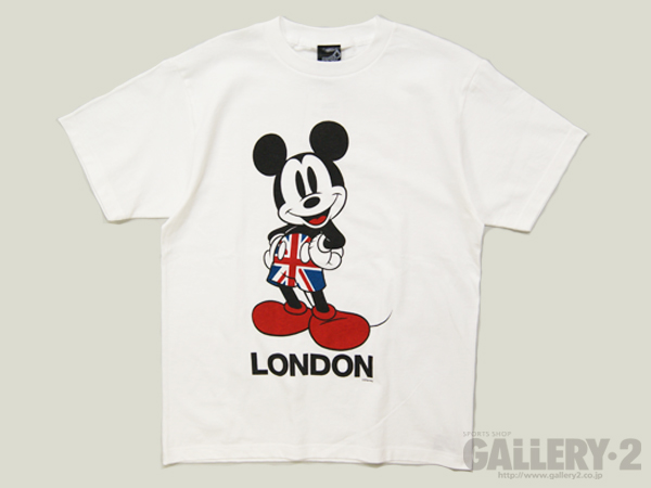 SPAZIO MICKEYMOUSE LONDON T
