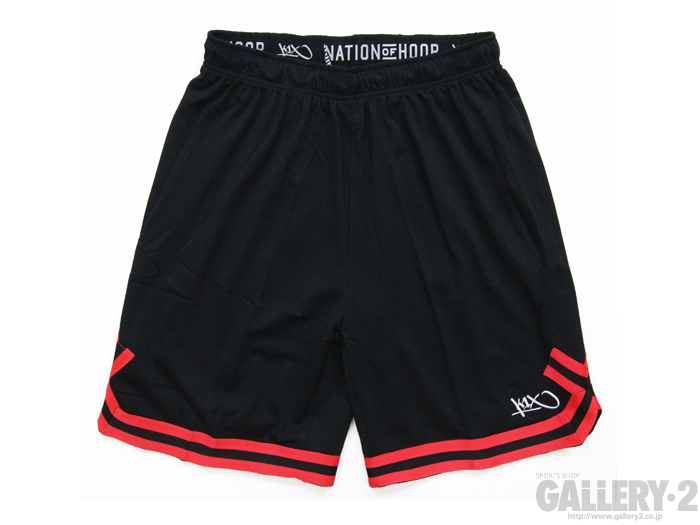 K1X hardwood big hole mesh double x shorts