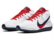WHITE/SPORT RED-OBSIDIAN(101)