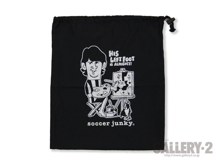 SoccerJunky シューズ袋LeftyPicasso