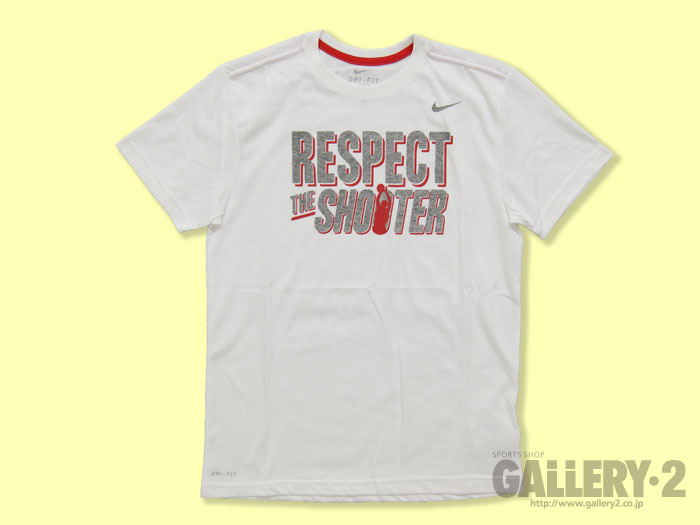 NIKE AS RESPECT THE SHOOTER TEE