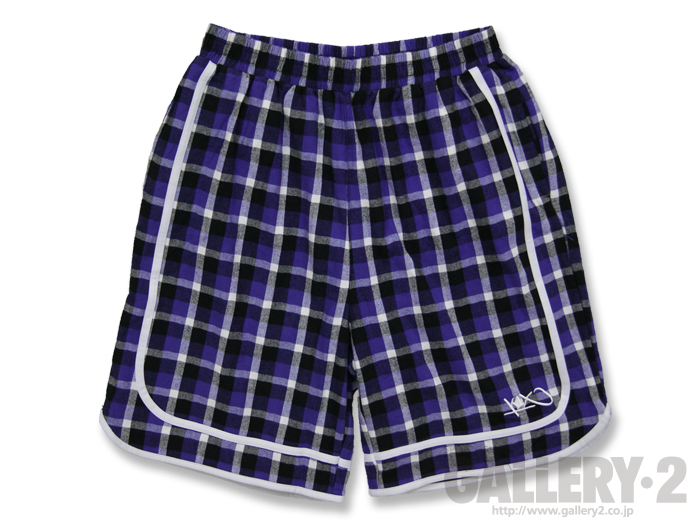 K1X check flannel shorts