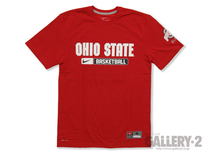 NIKE Team ISSUED PRACTICE TEE【OHIO STATE】
