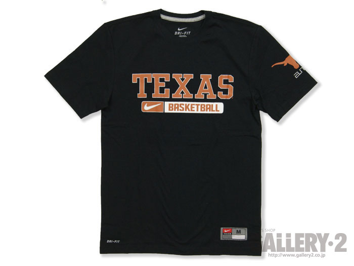 NIKE Team ISSUED PRACTICE TEE【TEXAS】