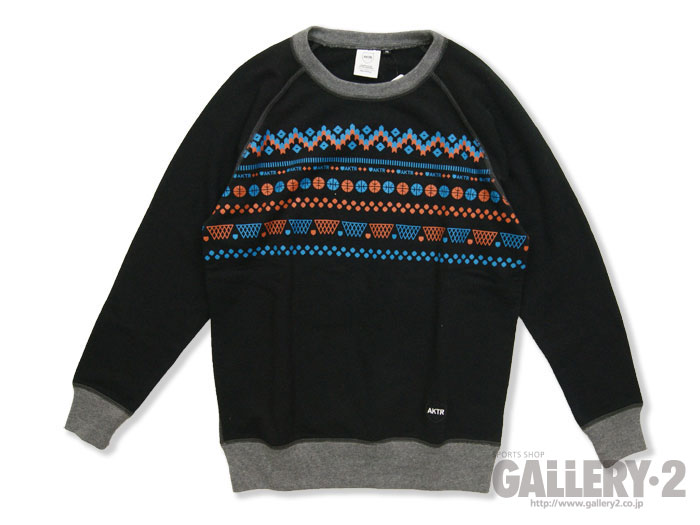"AKTR CREW NECK SWEAT ""NORDIC"""
