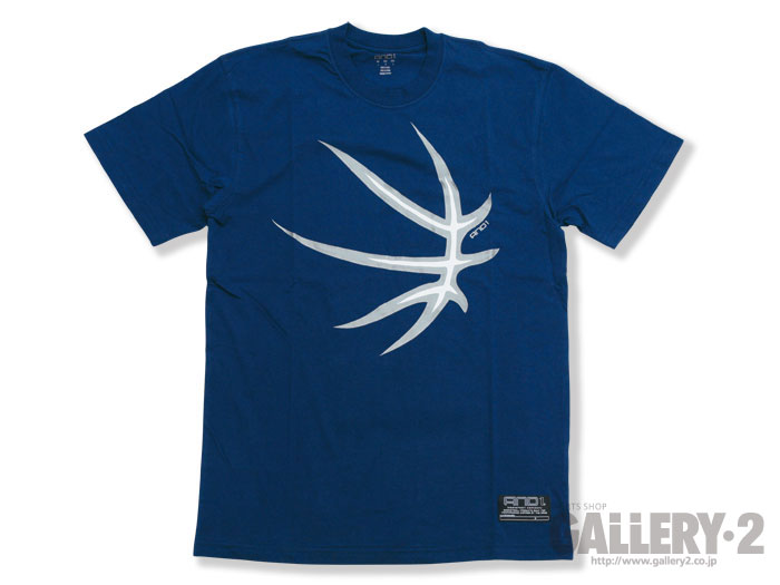 AND1 SS TEE DALEYA DEEP BLUE