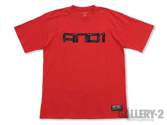 AND1 SS TEE DIALLO V.RED