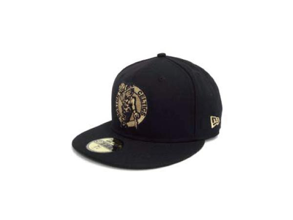NEW ERA 5950 BOSCEL BLK GLD