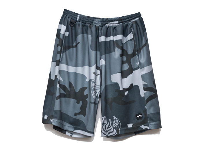 AKTR GAME WEAR SHORTS STREAMER CAMO