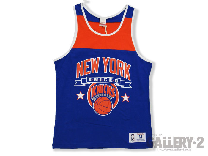 Mitchell&Ness NBA BLOCKED TANK