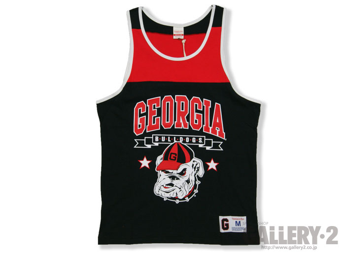 Mitchell&Ness NCAA BLOCKED TANK