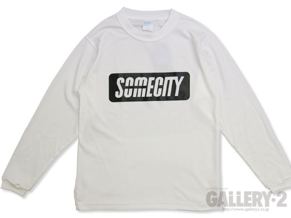 SOMECITY SOMECITY COOL FAST LOGO LONG T