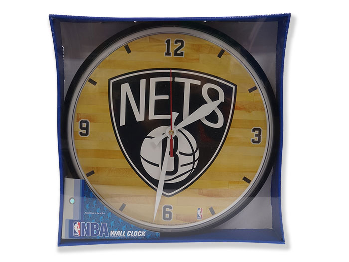 NBA TEAM ROUND CLOCK